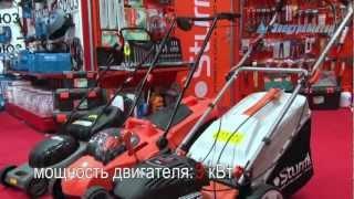видео Технические параметры газонокосилок