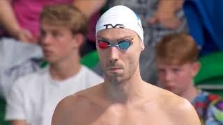 50m BACKSTROKE MEN Final  European Swimming Championship 2018