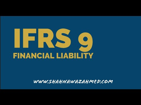 IFRS 9- Financial Liability