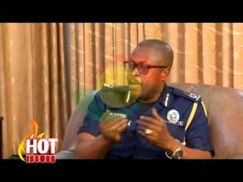 Hot Issues - with DCOP Nathan Kofi Boakye(Commander One) - 24/1/2015