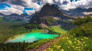 "Peaceful music, Relaxing music, Instrumental Music ""Glacier National Park"" By Tim Janis"