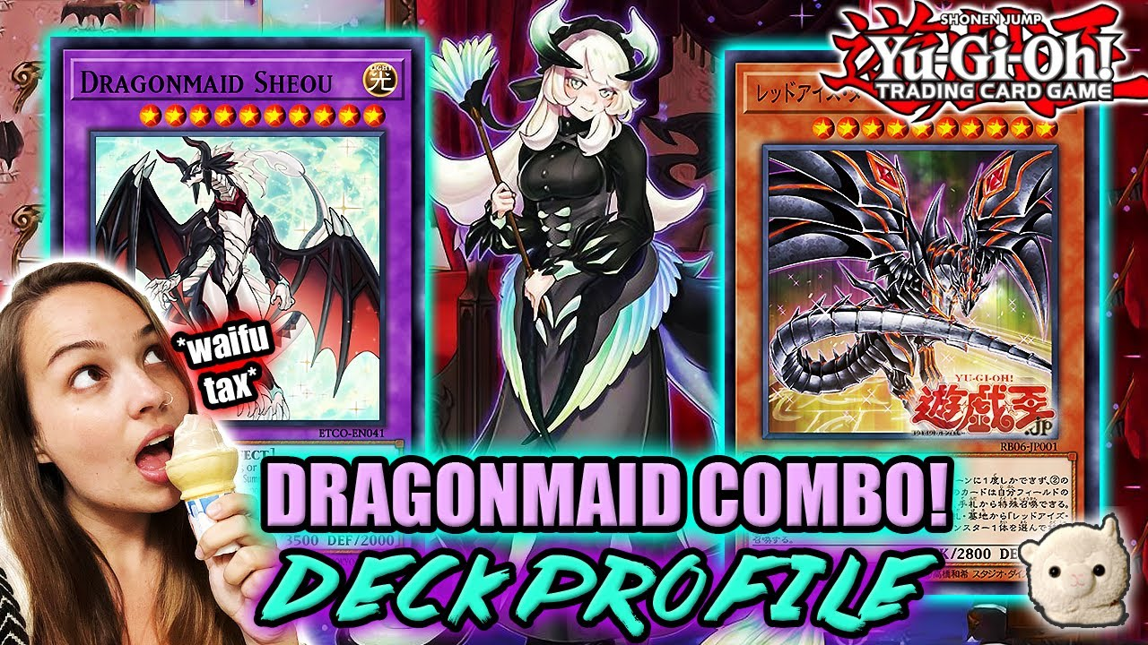 Yu-Gi-Oh! DRAGONMAID DECK PROFILE w/ Test Hands + Combos! CLEANING UP THE META! July 2020!