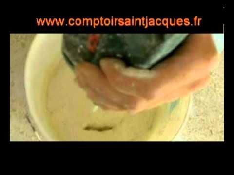 Recette De La Peinture Au Fromage Blanc   Youtube