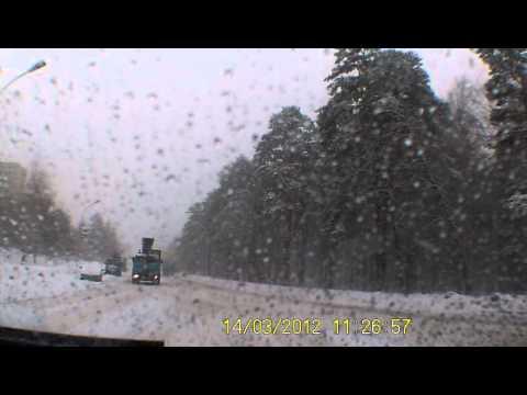 Вот такая вот погода в Пензенской области 14 марта