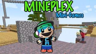 Minecraft - Mineplex Mini Games - The Bridges, Snake, Micro Battle, Hunger Survival Games