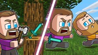 Minecraft Battle Royale Except Everything Is Random!