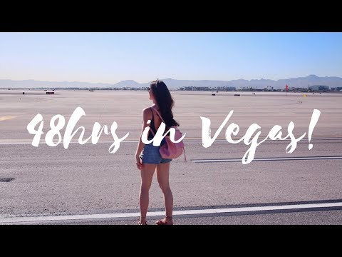 VEGAS TRAVEL VLOG | TOP PLACES TO VISIT!