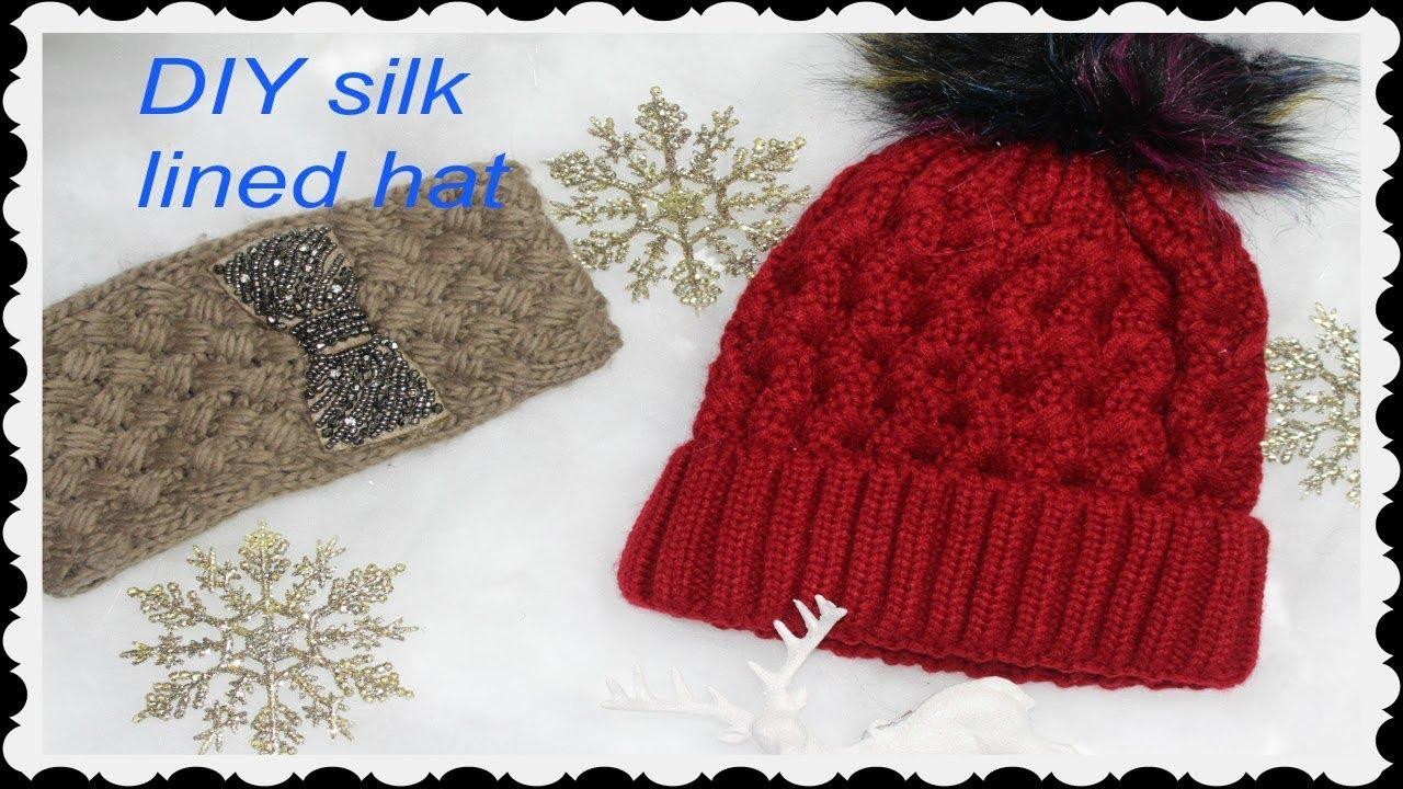 Silk Lined Wool Beanie - Parchment N Lead 3b231664a9d2
