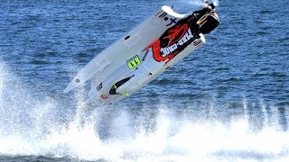 Formula 1 Powerboat Crashes