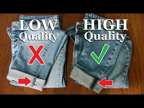 10 Tricks To Spot HIGH Quality Clothes!