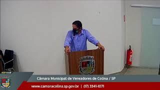 Câmara Municipal de Colina - 11ª Sessão Extraordinária 30/11/2020