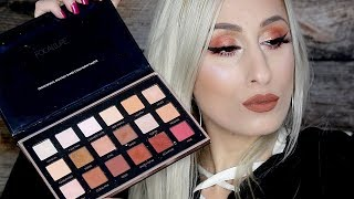 $7 Aliexpress Focallure 18 Colour Eyeshadow Palette 02 || REVIEW + SWATCHES