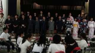 Gambar cover NHK Earthquake Charity Song - Hana wa Saku (Flowers Will Bloom) Cover by Japanese Exchange Students