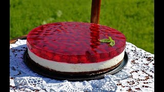 ТОРТ Шоколадно - Творожный с Вишней Очень Вкусный!