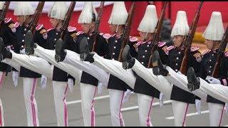 Parada Militar: Argentina, Chile, Bolivia y México participaron en el desfile