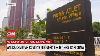 Angka Kematian Covid-19 Indonesia Lebih Tinggi dari Dunia