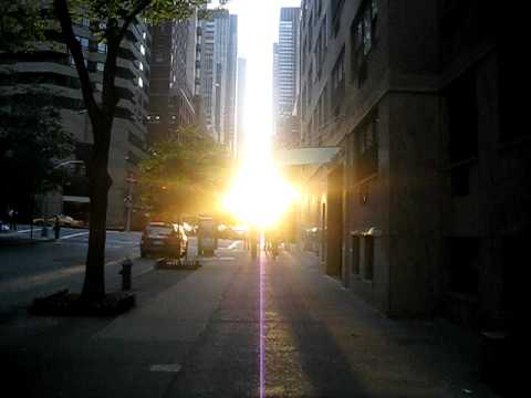 Sunset on 47th Street, NYC - 1