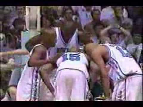 #2 North Carolina vs. #1 Duke - Basketball - February 1998