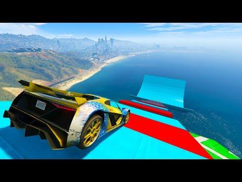 SUPER SALTO GIGANTE! - CARRERA GTA V ONLINE - GTA 5 ONLINE