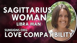 Sagittarius and Compatibility libra man woman of