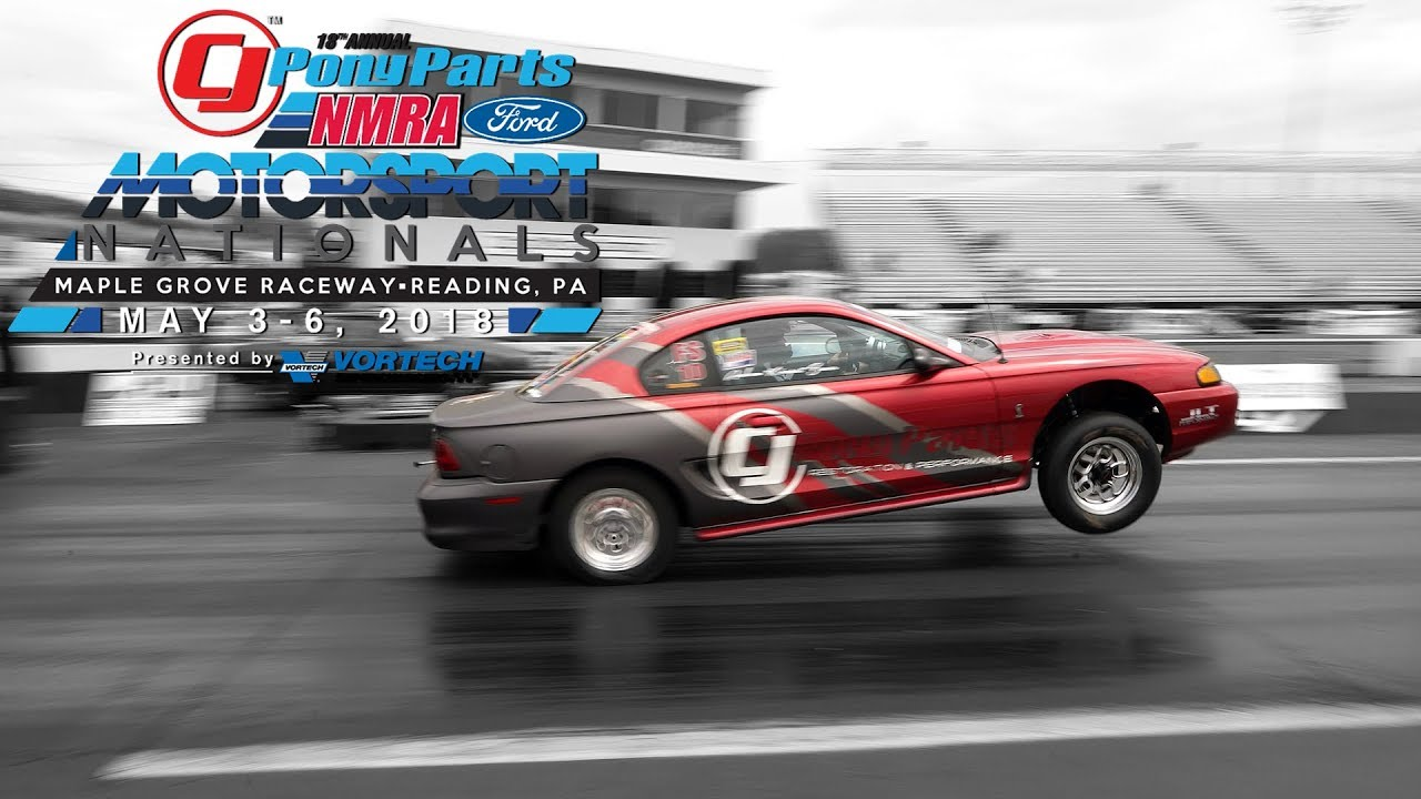 Drag racing mustangs more 2018 nmra ford motorsport nationals
