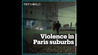 Violence in Paris suburbs amid coronavirus lockdown