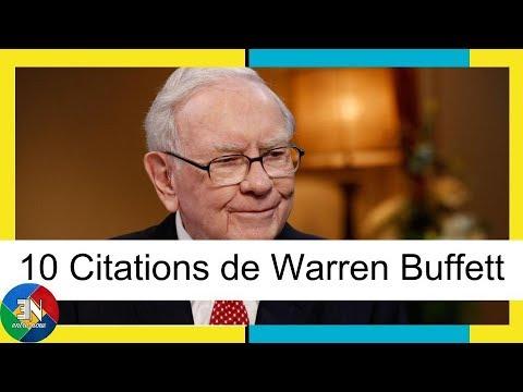 10 Citations De Warren Buffett Youtube