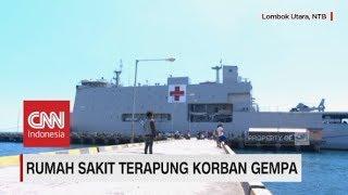 Rumah Sakit Terapung Korban Gempa