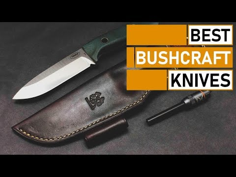Top 5 Best Knives For Bushcraft & Outdoor Survival