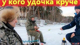 Рыбалка на окуня зимой на блесну не обошлось без приключений