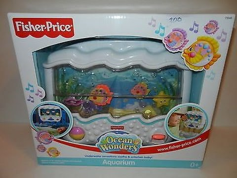 Fisher price ocean wonders aquarium fisher price aquarium for Fisher price fish bowl