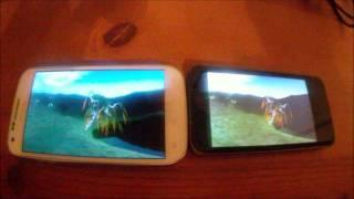 Benchmark White Galaxy SII Skyrocket vs G2X