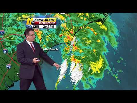 TRACKING FLORENCE: Rain continues to fall as Florence moves through the Carolinas