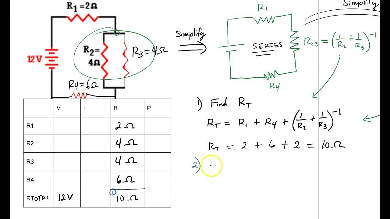 combination circuit problems [ 1280 x 720 Pixel ]