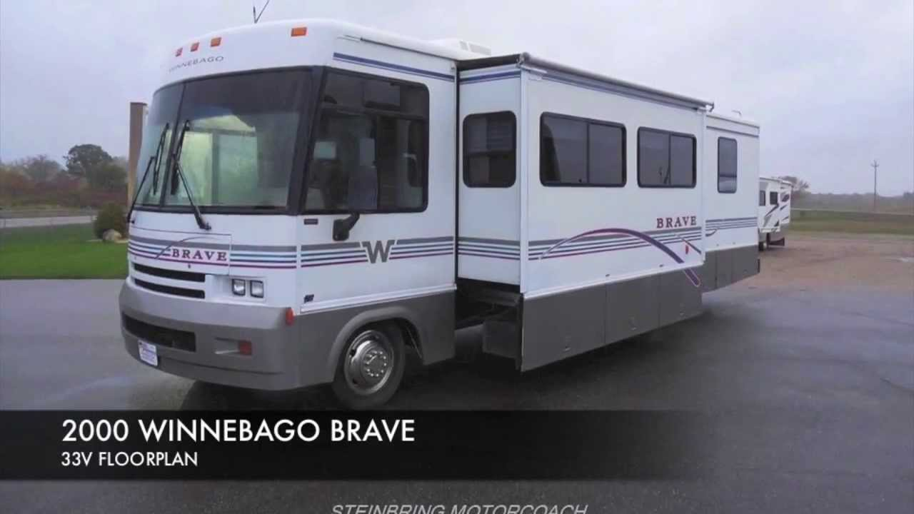 Campers For Sale In Mn >> 2000 Winnebago Brave 33v Used Class A Gas Motorhome For Sale Mn Dealer