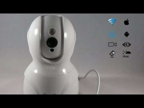 1080P Wifi Security Camera Unboxing/Review/Footage (Boddenly)