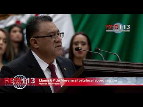 VIDEO Llama GP de Morena a fortalecer coordinación Estado-Federación