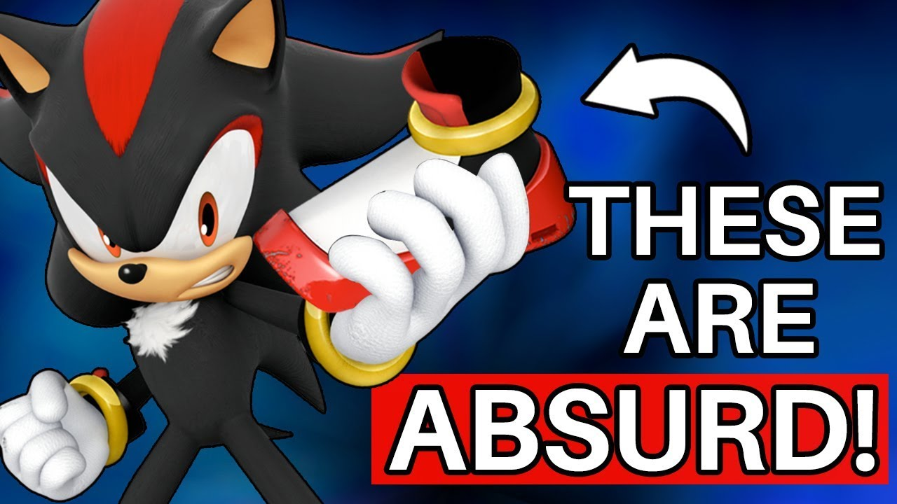 Why Shadow S Shoes Are Absolutely Ridiculous Sonic Youtube