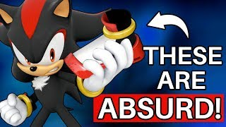 Why Shadow's Shoes are Absolutely Ridiculous (Sonic)