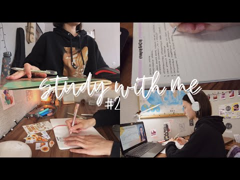 study with me | курсы, английский, bullet journal