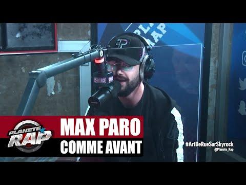 Youtube: Max Paro«Comme avant» #PlanèteRap
