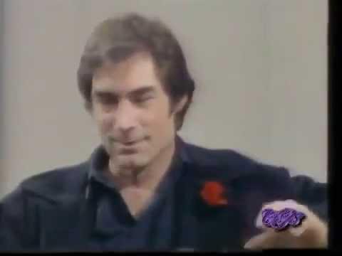 Timothy Dalton interview on 'Wogan' (BBC) 1989