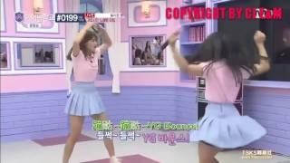 [中字]Idol School Ep3 李瑞妍賓荷娜李海印大跳bang bang bang和pick me