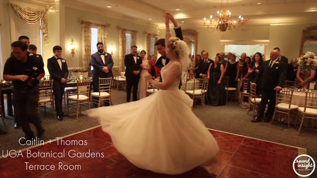 Caitlin and Thomas {Botanical Gardens} Terrace Room - YouTube