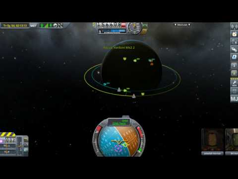 My Orbital docking and first crew transfer in KSP (this version)