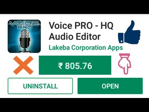 HOW TO DOWNLOAD | VOICE PRO APK | FOR FREE | SON-T