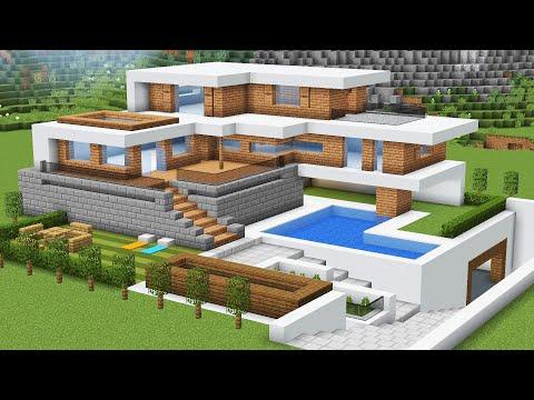 Как сделать большой дом