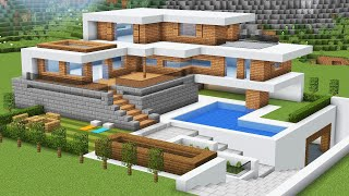 как в майнкрафте сделать очень большой дом