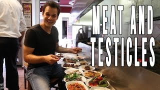 Enter Meat Heaven + Juicy Testicles   Tasty Turkish Food
