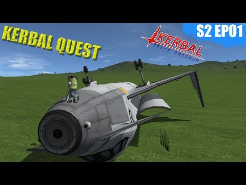 Kerbal Space Program - GEOSTATIONARY SATALITES  - Kerbal Quest S2 - Part 01